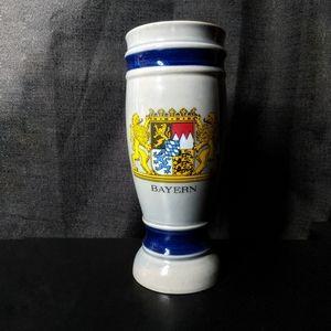 Vintage Bayern Lion Crest Coat of Arms Beer Stein